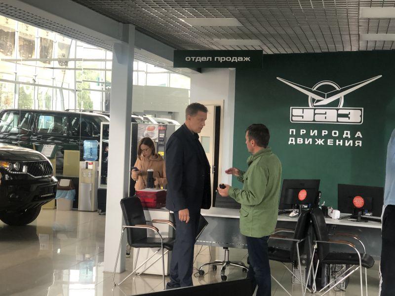 Сергей Горобченко в РУС-АВТО